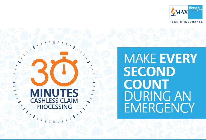 Buy Max Bupa Health insurance with Irresistible benefits. 30 minutes Cashless claim processing.